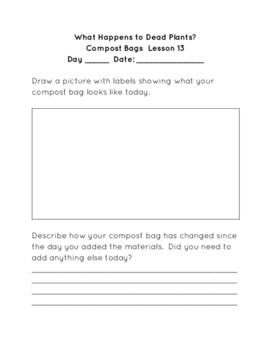 STC Soils Kit Compost Bag Recording Sheets