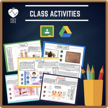 STD Unit: PowerPoint Presentation, Group Activity, Homework, Quiz *Health Sex Ed