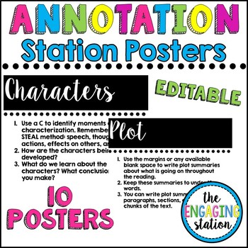 Annotation Station Posters
