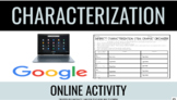 STEAL Indirect Characterization Graphic Organizer Google Based