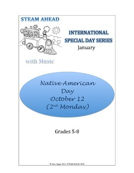 STEAM AHEAD with Music: Special Day Series: Native American Day