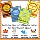 STEAM All Year Bundle - 40 Hands-On STEM Makerspace Challe