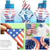 STEAM American Flag Activities x 5 - Memorial Day, 4th Jul