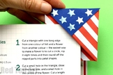 STEAM American Flag Bookmark Corner (3 Pages) - Memorial Day, 4th July, Flag Day