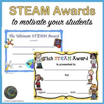 steam award - Stem Certificate Template