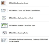 STEAM BINS: Easy to Assemble Bins for Individual Use