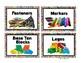 STEAM Bin Labels