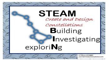 STEAM Bins: Create and Design Constellations