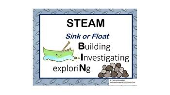STEAM Bins: Exploring Sink or Float
