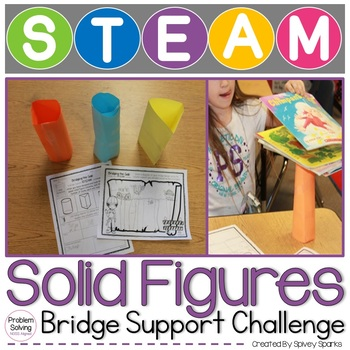 Solid Figures Bridge Support STEAM and STEM