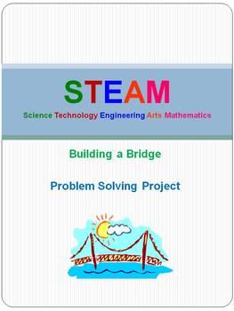 STEAM (STEM)- Building a Bridge Problem Solving Project