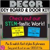 STEM Bulletin Board Kit - Maker Space