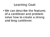 STEAM Cantilever Activity Powerpoint