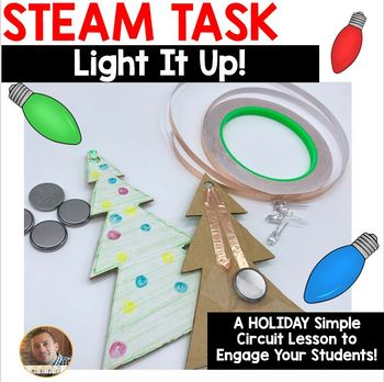 STEAM Challenge #2: Light It Up- A Holiday Simple-Circuit Challenge
