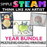 STEAM Challenge Bundle -  Art & Writing