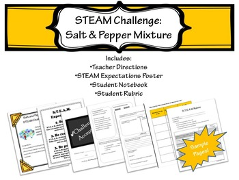 STEAM Challenge: Salt and Pepper Mixture
