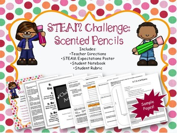 STEAM Challenge: Scented Pencils
