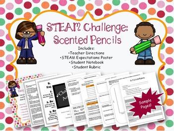 STEAM Challenge: Scented Pencils