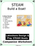 STEAM Design and Build a Boat: Lakeshore Aligned Packet