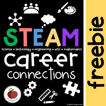 STEAM Challenges - * FREEBIE * - Career Connections - Task Cards - STEM