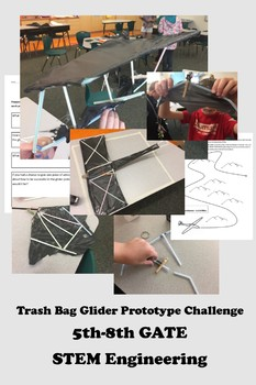 STEAM Glider Prototype Engineering Challenge for Upper Elem Gifted and Talented