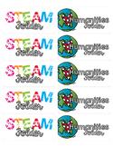 STEAM & Humanities - Folder Labels