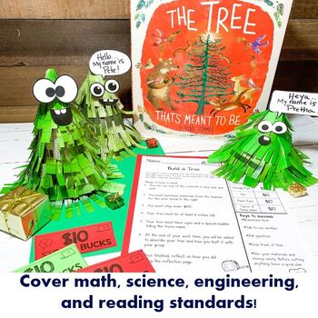 STEAM Into Reading: Christmas STEAM Project- The Tree That's Meant To Be