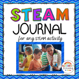 STEAM Journal for any STEAM challenge activity