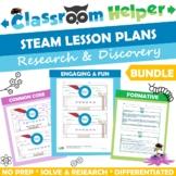 STEAM Lesson Plans Bundle
