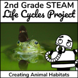 STEAM Life Cycle of a Butterfly and Frog Activities
