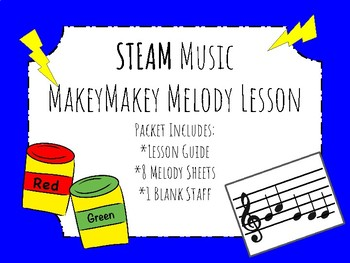 STEAM MakeyMakey Music Melody Lesson