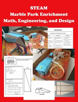 STEAM Marble Park Enrichment -- Whole Class and GATE - Math - Engineering