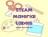 STEAM Material Labels