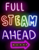 STEAM Neon Posters | STEAM Letters