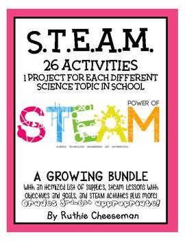 STEAM! Over 25 Activities!