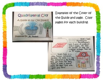 STEAM / PBL Quadrilateral City!
