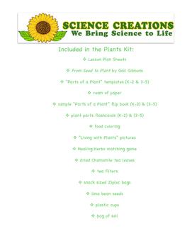 S.T.E.A.M PLANTS 5 WEEK ACTIVITIES