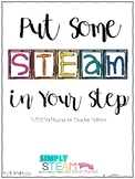 STEM or STEAM Planner for TpT Sellers and Teachers
