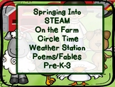 STEAM Poetry and Fables Circle Time From the Farm