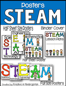 STEAM Posters by Kreative in Kindergarten