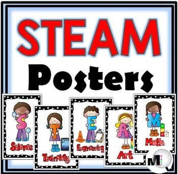 STEAM Posters - Primary - Set 3