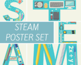 STEAM Posters, set of 5