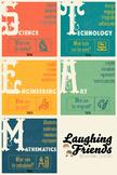 STEAM Printable Mini-Poster Set (STEM)