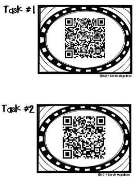 STEAM QR Code Task Cards FREEBIE!!!