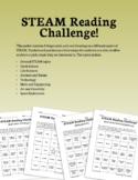 STEAM Reading Challenge - Bingo Cards