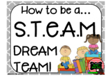 STEAM / STEM Dream Team Poster Pack and More