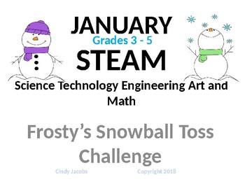 STEAM STEM JANUARY CHALLENGE