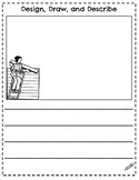 STEAM / STEM Task cards and Writing Prompts