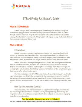 STEAM / STEM Unit: Circuits, Engineering, Creative Tech