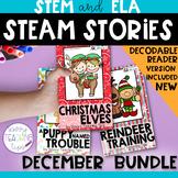 STEAM STORIES BUNDLE, STEM and ELA,  December Holidays